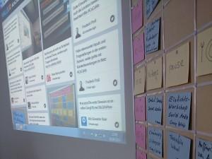 Car Camp Mannheim Twitterwall und Agenda