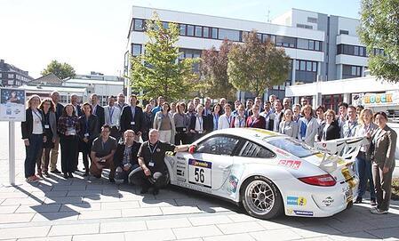 Die Teilnehmer des CarCamp Mannheim
