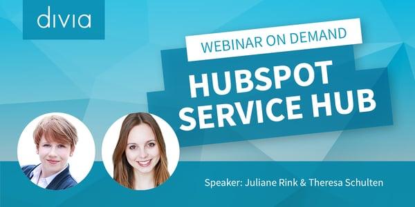 Hubspot Service Hub_On demand
