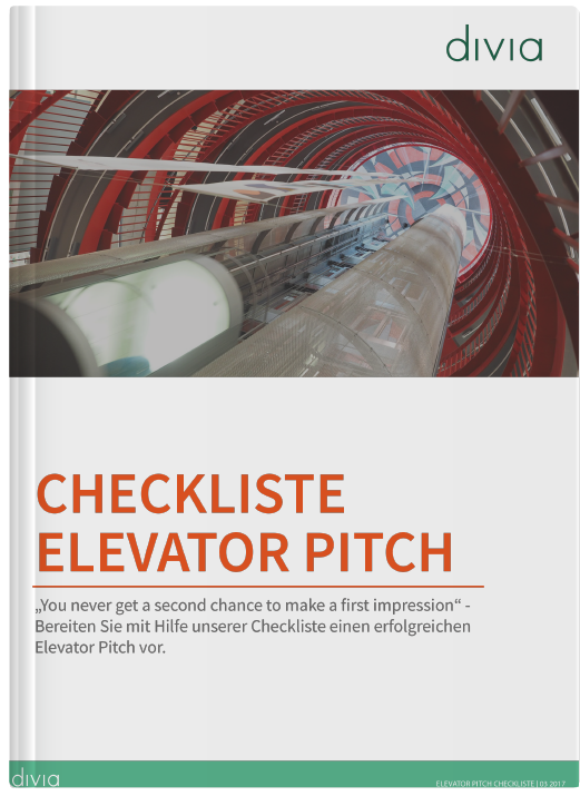 Checkliste Elevator Pitch