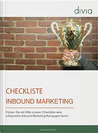Checkliste Inbound Marketing kostenlos herunterladen