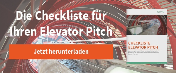 Checkliste: Elevatot Pitch