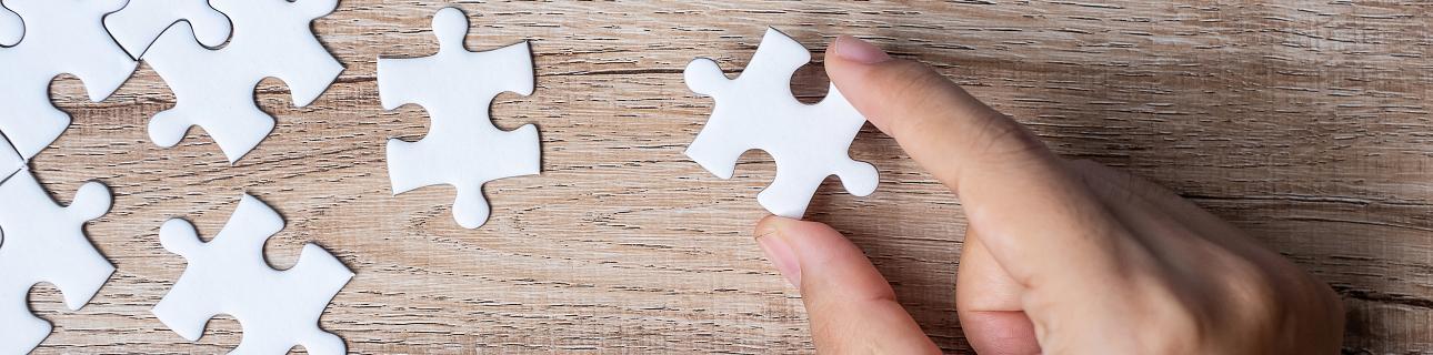 Wie ein Puzzleteil lassen sich Webinare in Ihre Gesamtstrategie einbauen
